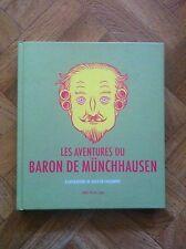 LES AVENTURES DU BARON MUNCHHAUSEN ILLUSTRATIONS FAUCOMPRE EO PROCHE NEUF (F44)