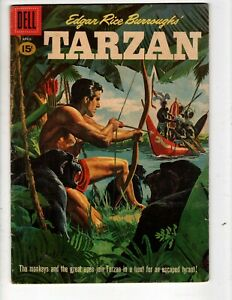TARZAN No 123 Monkeys and Apes Help Tarzan Hunt For Escaped Tyrant!