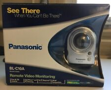 Panasonic BL-C10A Remote Video Monitoring Network Security Camera New/Sealed...
