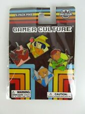 Pin-Club Soldier Gamer Culture Pin Set 4-Pack Enamel Pin Video Game Characters