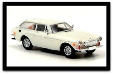 wonderful  HERPA-modelcar  VOLVO P1800 ES 1971 - white - scale HO 1/87