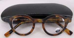 eyebobs TV  Party Reading Glasses  Strength 3.50 Tortoise Case Cloth Retail $89