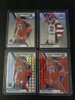 2019-20 Panini Mosaic Charles Barkley Red Silver Prizm Base 4 Card Lot