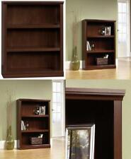 "Sauder 412808 3 Shelf Bookcase, L: 35.28"" x W: 13.23"" x Select Cherry Finish"