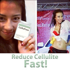 CELLUFREE CELLULITE PILLS TABLETS REMOVE STUBBORN CELLULITE TONED TIGHT SKIN !