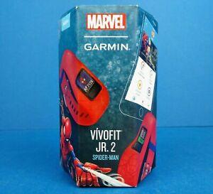 Garmin Vivofit Jr. 2 Kids Fitness Tracker Marvel Spider-Man - New - Spiderman