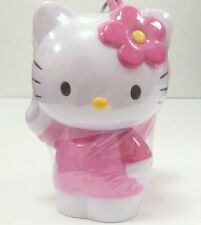 Sanrio Pink Hello Kitty Dispenser Container w/ Candy Key Chain Toy Party Filler