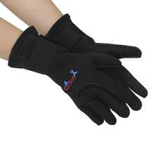 3MM NEOPRENE WETSUIT Gloves Kayak Diving Swimming Surfing Gloves Black size M