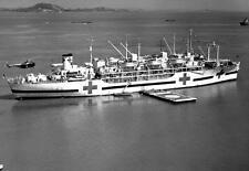 Photo. Korean War. Ship USS Haven - carrying wounded