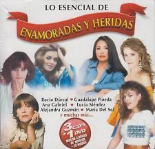 CD - Lo Esencial De Enamoradas Y Heridas NEW 3 CD's & 1 DVD FAST SHIPPING !
