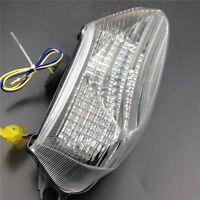 For Brake Tail lights For 1998-2005 Super Hawk VTR1000 VTR1000F Clear LED