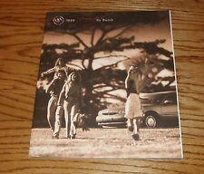 Original 1999 Buick Century Deluxe Sales Brochure 99