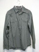 Esprit Herrenhemd grau Urban Fit Vintage Style  Gr. L