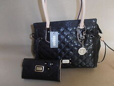 GUESS PURSE  BLACK COLOR  WITH WALLET 100% AUTHENTIC NICE & CHEAP!