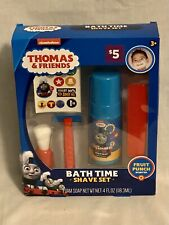 NEW Nickelodeon Thomas & Friends Bath Time Shave Set Fruit Punch Scent Foam Soap