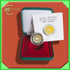 "2 Euro Gedenkmünze Coin Coins Belgien 2015 "" EU-Flagge "", PP/Proof"