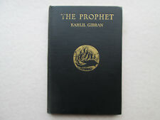 THE PROPHET by Kahlil Gibran 1928 Fifteenth Printing MARCH 1928 Scarce VINTAGE