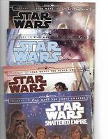 STAR WARS: SHATTERED EMPIRE #1-4 COMPLETE SET MARVEL COMICS