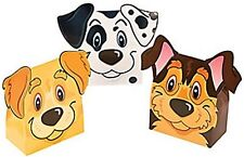 Pack of 6 - Puppy Face Party Favour Sweet Boxes - Great for Paw Patrol Parties