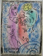 Marc Chagall (1887-1985) La Piege Titel Derriere Miroir Orig. Lithografie 1962