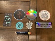 The Buck Club Stickers and Pencils Tbc Slow Play Liberty Cactus Jack