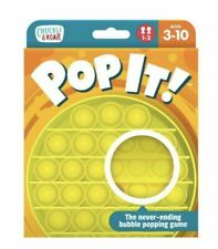 Chuckle & Roar Pop It Never Ending Bubble Popping Game - Yellow