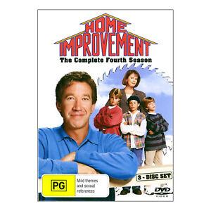 Home Improvement: Season 4 DVD (4 Disc Set) Brand New - Tim Allen - Free Post