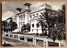 Riviera dei Fiori - San Remo - casino municipale [grande, b/n, viaggiata]