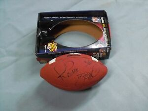 Jerome Bettis Pgh Steelers Signed Steelers Micro Football, FULL NAME, Franklin