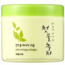 Masaje Facial Crema Natural Del Te Verde Antiarrugas Rejuvenece Reafirma La Piel