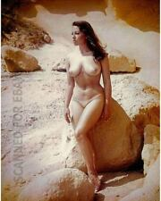 Nude June Palmer leggy model female busty photo picture woman girl print 22X4