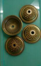 1 rosace plafonnier en bronze ou laiton lustre Diam 8,2 cm au choix  parmi 4