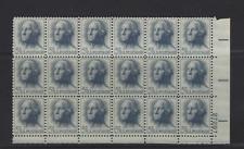GW USA 5 CENT STAMPS, SC# 1213 PB 18, 1213a BKLT PANE X 3, 1229 LINE STRIP OF 7