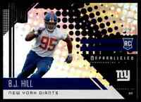 2018 PANINI UNPARALLELED B.J. HILL RC NEW YORK GIANTS #268