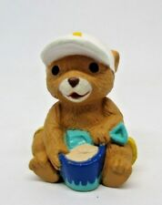 Hallmark Merry Miniatures Beach Bear with Sand Bucket