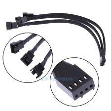 PWM Y Kabel 4 PIN Adapter Lüfter Verteiler Splitter 1x Buchse 3x Stecker 26 cm
