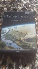 PLANET EARTH SIR DAVID ATTENBOROUGH SIGNED BBC DVD W COA IDEAL GIFT SERIES 1 ONE