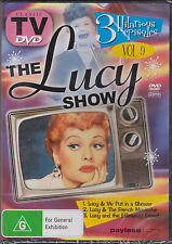 THE LUCY SHOW VOL. 9 - DVD - 3 CLASSIC EPISODES - NEW