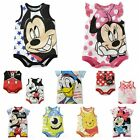 Infant Baby Boys Girls Rompers Jumpsuit Minnie Cartoon Cotton 6-24 Months