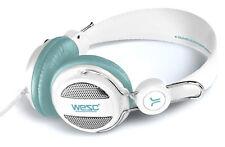 CUFFIA DJ WESC OBOE WHITE VIVAVOCE PER iPhone iPad iPod Mp3 Usb Player Pc Mac