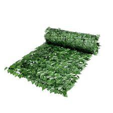 Siepe artificiale evergreen edera 1 x 3 m foglia schermo totale fascette omaggio