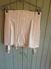 nwt Vintage pink C/B Strouse Adler Corset open bottom girdle  sz 29 hook&eye