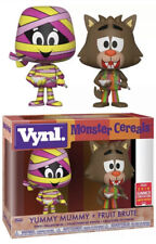 NEW FUNKO Monster Cereals Vynl Yummy Mummy & Fruit Brute Figure CONVENTION LE