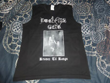 Dodheimsgard Black Metal Wifebeater Shirt Large Black Metal Immortal Aborym