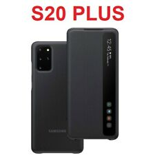 Original Samsung Clear View Flip Case Galaxy S20+ Plus smart phone cover