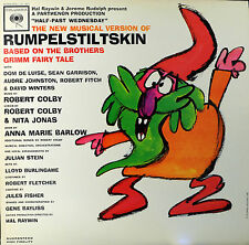 RUMPELSTILTSKIN MUSICAL SOUNDTRACK Columbia 1917 Mono NM Cast Vinyl LP