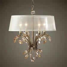 Uttermost Alenya 4 Light Gold Metal Chandlier