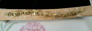 Vintage orig. Armband in Gold Double