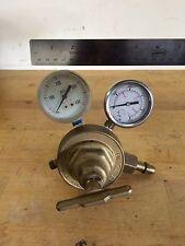 Vintage Uniweld Compressed Gas Regulator Rv8011 1