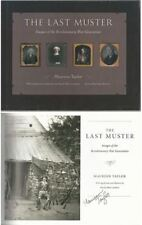 The Last Muster Revolutionary War by Maureen Taylor Signed